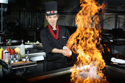 Chef of Red Samurai Chinese & Sushi Restaurant Jackson MS