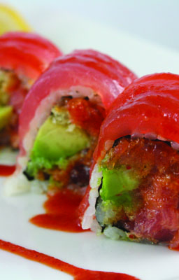 Tuna Lover Roll from Red Samurai Chinese & Sushi Restaurant Jackson MS
